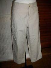Pantalon court Pantacourt de randonnée coton beige COLUMBIA 14UK 44/46FR 16ET17
