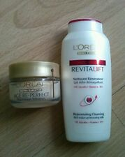 *LOREAL AGE RE-PERFECT - Crema 15 ml + Leche Limpiadora 50 ml