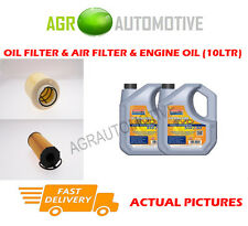 DIESEL OIL AIR FILTER KIT + LL 5W30 OIL FOR AUDI A6 2.7 179 BHP 2004-08