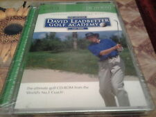 El funcionario David Leadbetter CD-ROM de la Academia de Golf Nuevo y Sellado Coaching