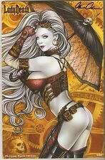 Lady Death #0. Steam Death Edition. Ltd 9/69. Monte Moore Cover.