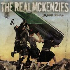 10,000 Shots by The Real McKenzies (CD, 2005, Fat Wreck Chords)new not sealed