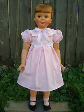 "Dress, Ribbon Necklace and Slip Puffy for your Patti Playpal or 35"" - 36"" doll"