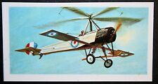 CIERVA AUTOGIRO   Experimental Aircraft      Superb Colour Card # VGC