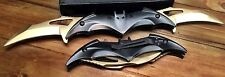 Batman Knife Spring Assisted Folding Blade Pocket Dark Knight Tactical Joker GD