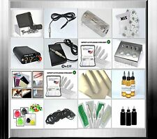 Tattooset (R1 Tresor)  Komplettset Rotary Tattoomaschine Tattoo Set  Tattoofarbe