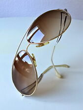 VINTAGE zollitsch 902 BICOLOR GERMANY NOS RARE SUNGLASSES AVIATOR Lee Maritim