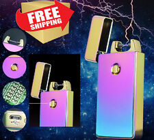 Colorful Arc USB Electronic Tesla Rechargeable Flameless Cigarette Lighter