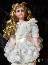 Constance porcelain sitting Hamilton Collection doll