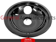 """GE General Electric Stove Range Cooktop 8"""" Black Burner Drip Pan Bowl WB32X5069"""