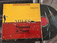 "MILES DAVIS ""Sketches of Spain"" NEVER PLAYED CS 8271 6-eye '60 ""1AG/1AC"" NM+"