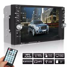 6.6'' 2DIN Autorradio Pantalla Táctil Coche Radio FM AUX TF MP5 Player Bluetooth