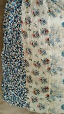 Ralph Lauren NEW Denim Supply Floral scarf 77 x 32 NWT Blue Cream Coral