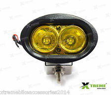 Xtreme 20w Yellow Cree LED Fog Off Road Bar Light For Bajaj Pulsar 135 DTS-i