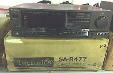 Technics SA-R477 Quartz Sythesizer AM/FM Receiver. BRAND NEW IN BOX RARE!