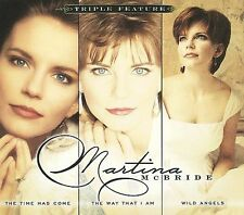 "MARTINA McBRIDE, 3 CD SET ""TRIPLE FEATYRE"" NEW SEALED"