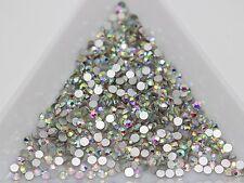 1440 Rainbow AB Clear FlatBack Crystal Rhinestone Gem 2.7mm SS10 Nail Art DIY