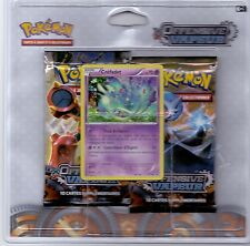 POKEMON PACK 2 BOOSTERS OFFENSIVE VAPEUR PROMO CREFADET