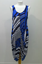 "LAGENLOOK BEAUTIFUL COVER UP JERSEY PRINT SOFT TULIP MAXI DRESS 58"" B"