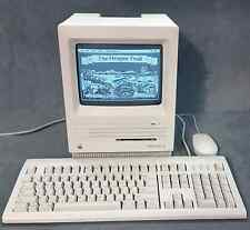 APPLE MACINTOSH SE M5011: LOADED with GAMES, Apple Logo Keyboard & Mouse