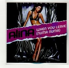 (GE826) Alina, When You Leave (Numa Numa) - DJ CD