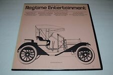 Ragtime Entertainment~RBF Records~Compiled By David A. Jasen~Folkways Records