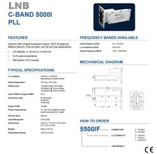 New Norsat 5500I, C Band PLL LNB