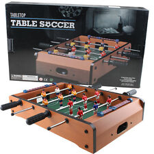 "20"" Mini Table Foosball Game Set Soccer Table Arcade Game Room Hockey Fooseball"