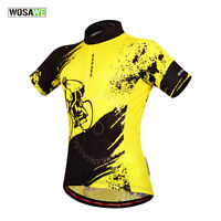 New Casual Mens Racing Team Cycling Jersey Bicycle Short Sleeve Tops Shirt Wear
