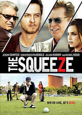 THE SQUEEZE 2015 dvd GOLF Gambling JEREMY SUMPTER Michael Nouri JASON DOHRING
