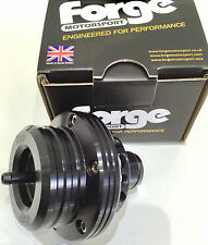 Forge Motorsport Dual Piston Blow Off Dump Valve FMDV004 BLACK - IN STOCK