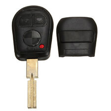 BMW E36 E38 E39 E46  3/5/7 Z3 REPLACEMENT 3 BUTTON KEY FOB CASE & BLADE LOOK