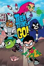 TEEN TITANS GO - CHARACTERS POSTER - 22x34 TV SHOW GROUP 14172