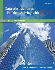 Data Abstraction and Problem Solving with C++ (US 6E; ISBN-13: 9780132923729)