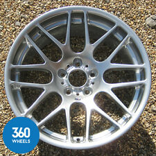 "1 x NEW GENUINE BMW M3 CSL 19"" 163 M CROSS SPOKE REAR ALLOY WHEEL 36112282999"