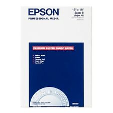 Epson Premium Lustre Photo Paper A3+ 250 gsm 100 Sheets Standard Generic Inkjet