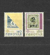 ILE FEROES / FOROYAR europa CEPT 1979 NEUF Série complète MNH