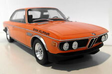 Otto 1/18 Scale OT214 BMW 3.0 CS Alpina Inka Orange Resin cast Model Car