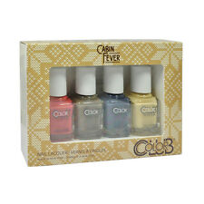 Color Club Nail Polish Cabin Fever Collection Mini 4x 0.25oz
