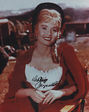 DEBBIE REYNOLDS Signed 10x8 Photo HOW THE WEST WAS WON & SINGING IN THE RAIN COA