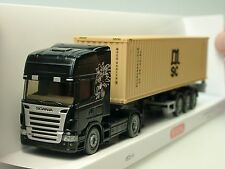 Wiking SCANIA CONTAINER MSC-autoarticolati - 0523 49 - 1/87
