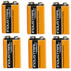 6 Single Duracell Procell 9 V Block Alkaline Battery PP3 6LR61 MN1604 Batteries
