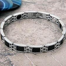 Stainless Steel Magnetic Magnet Bracelet Bangle Link Chain