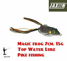 Jaxon magic grenouille top water fishing lure 7cm. 15g. jerkbait brochet leurre 05E