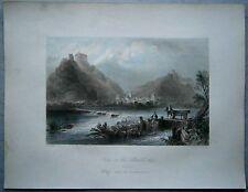 1842 Bartlett print SCENE IN ALTMÜHLTAL, BAVARIA, GERMANY (#12)