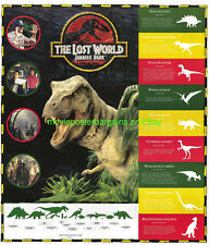THE LOST WORLD: JURASSIC PARK MOVIE POSTER RARE 2SIDED VIDEO PRINT 22x26