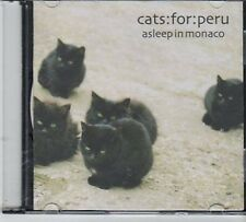 (CY507) Cats:for:Peru, Asleep in Monaco - 2008 DJ CD