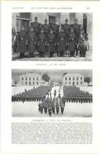 1897 French Army Chasseurs A Pied 5th De Ligne 1st Cuirassiers 9th Dragoons