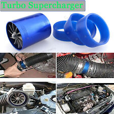 "2.5""-2.9"" Gas Fuel Turbo Saver Fan Supercharger Air Intake Turbonator For Toyota"
