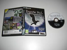 BARROW HILL - Curse Of The Ancient Circle Pc DVD Rom FO -  FAST DISPATCH